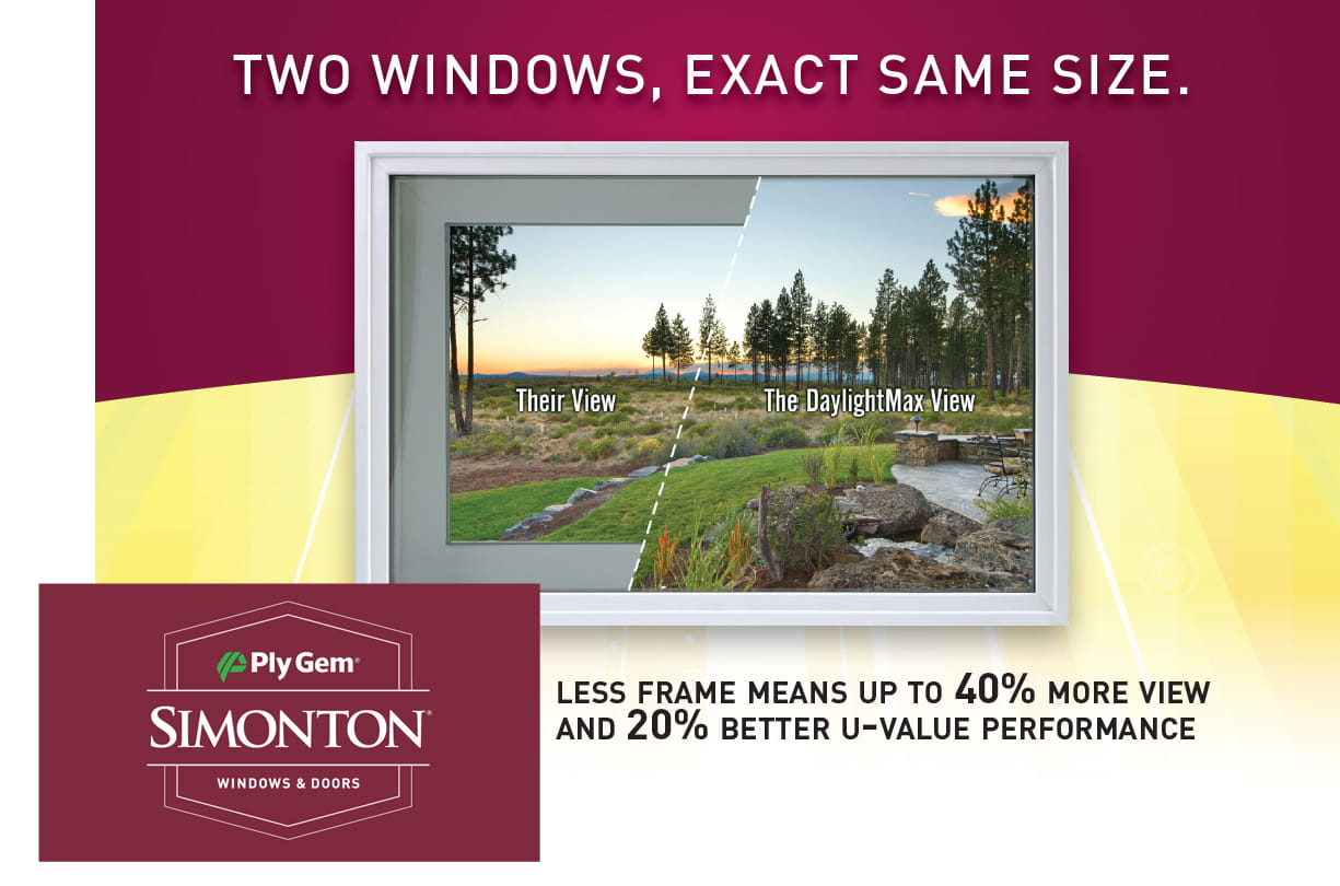 Simonton Daylightmax Vinyl Replacement Windows